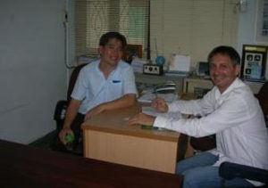 Intervista al Direttore del Wat Po, Khun Serat Tan