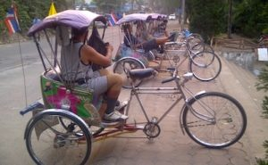 Rickshaw Chiang Rai