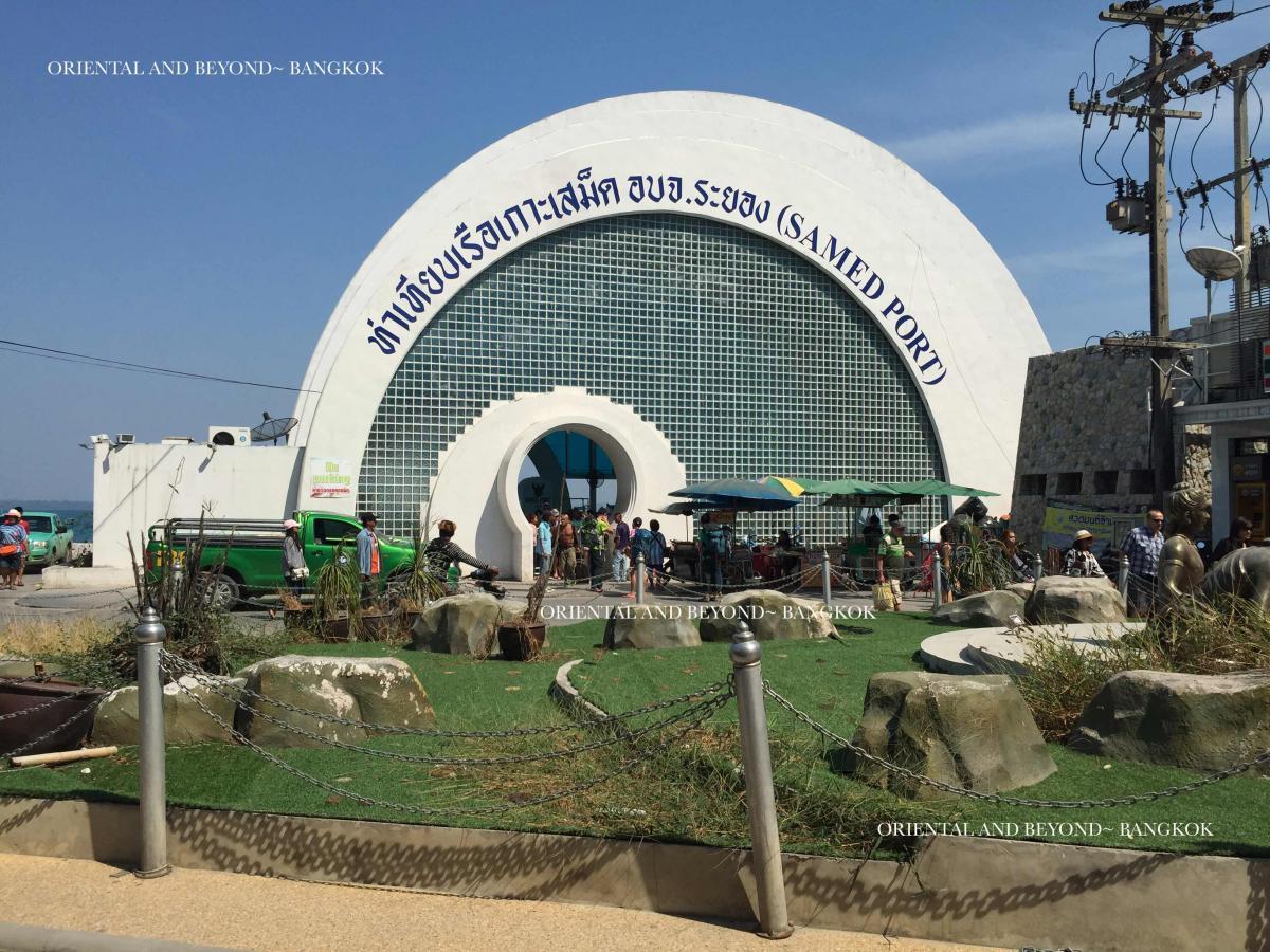 Il porto di Koh Samet