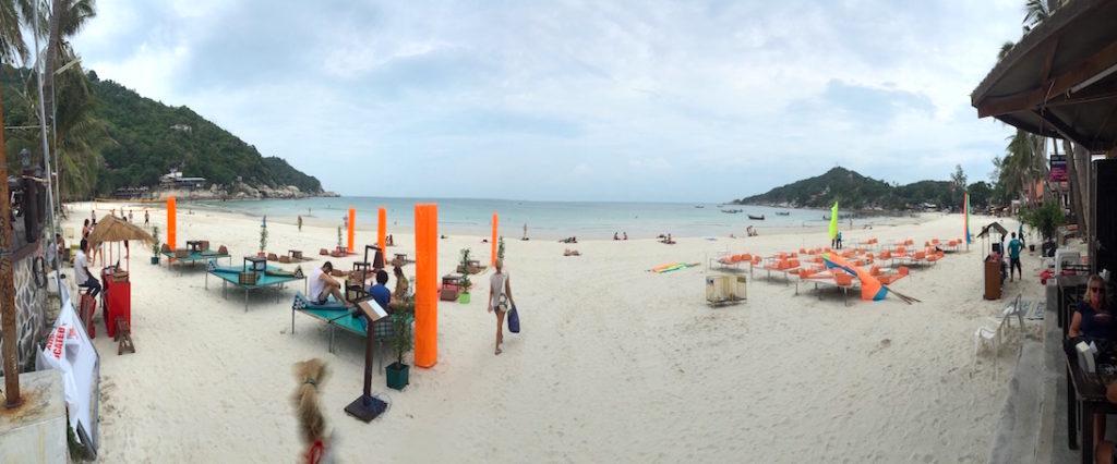Koh Phangan, spiaggia Haad Rin