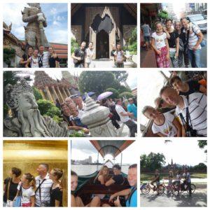 Alcune immagini del Tour in Thailandia.