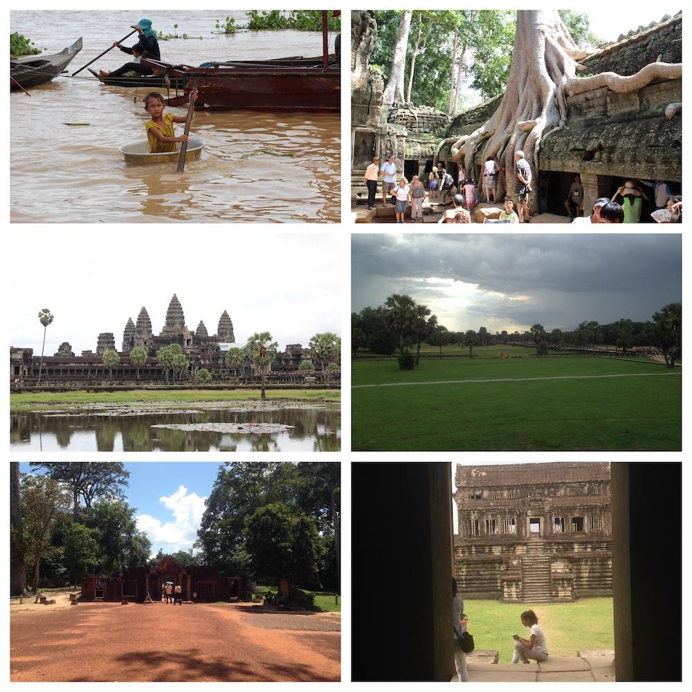 Immagini della Cambogia: Angkor Wat, Tonle Sap, Ta Prohm