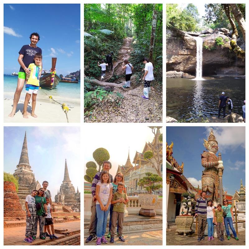 Alcune immagini del Tour con il Parco UNESCO di Khao Yai.