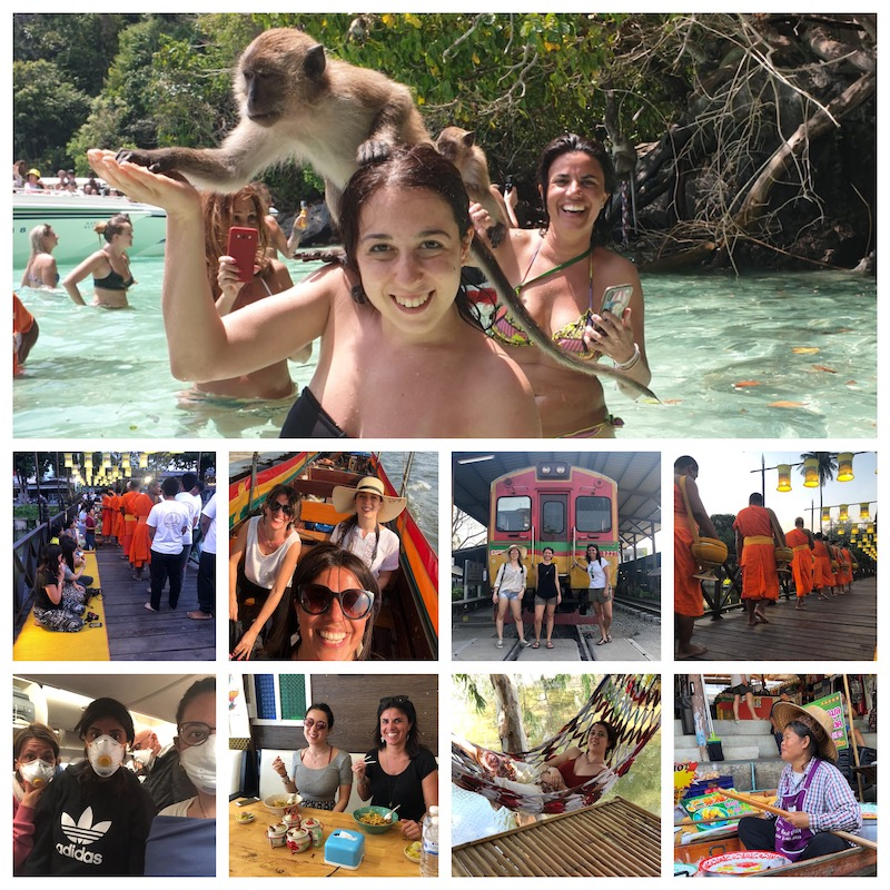 Alcune immagini del viaggio in Thailandia e Monkey beach a Phi Phi island