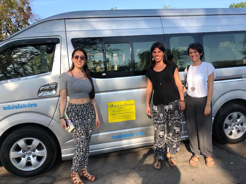 Tour Nord Thailandia con autista personale.