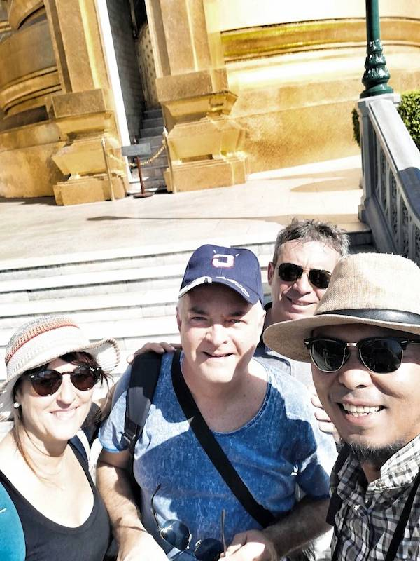 Tour guidato di Bangkok in italiano.